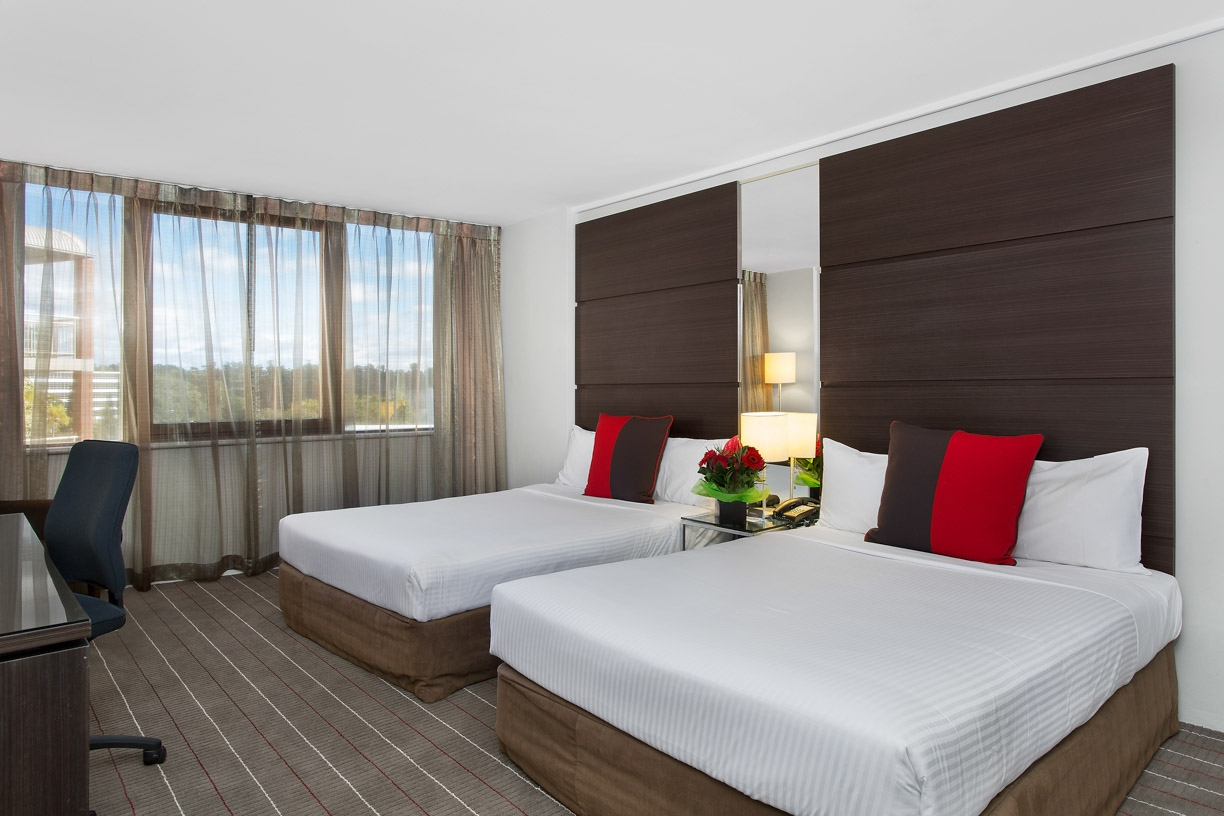 Picture of inside Novotel Hotel Room